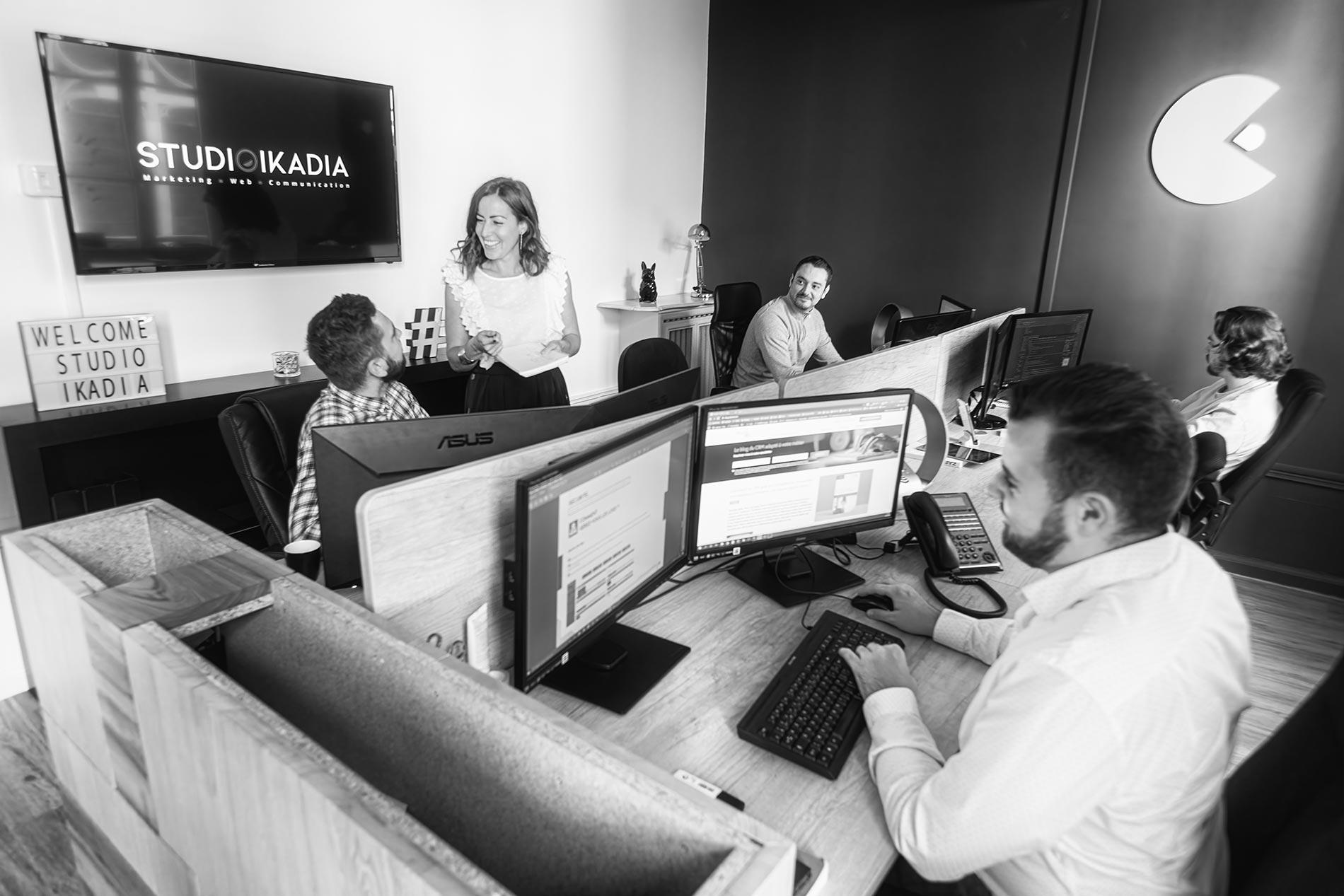 le studio web du studio ikadia vous accompagne dans votre transformation digitale grâce à son label